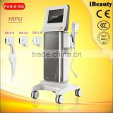 Portable 5 in 1 High Frequency Facial Beauty Machine Tightening Lift Skin Care