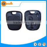 Plastic ABS half remote key case for Citroen half remote key case blank shell fob cover with Only the button part