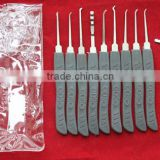 GOSO high quality 9 pin lock pick set tool locksmith tool