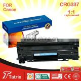 printer cartridge CRG337 A+ grade Compatible Laser Toner Cartridge wholesale china Hot selling Zhuhai 2015 new!