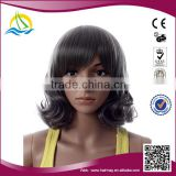 Special price and Good quality high density green short braid synthetic wig