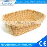 Factory price New Design High quality handmade popular plastic basket , Bread display stand