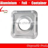 "Household Aluminium Foil Gas Burner/Gas Stove Protector 8 3/4"" X 8 3/4"""