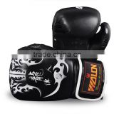 Descendants of high-grade PU leather dragon boxing gloves wholesale,Real men's worth having