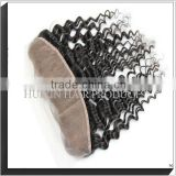 100% Human Hair Lace Closures , Full Front Lace Closures