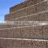 Galvanized Welded Mesh Type gabion box/basket/container for landscaping
