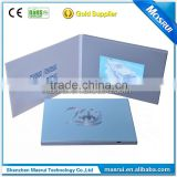 business video mailer card with 4.3 inch lcd screen