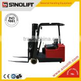 CPD-F Series 3-wheels Super -low Mast Electric Mini Forklift