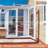 Custom made commerical windows aluminum window french window designs frames double glass windows price