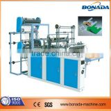 SHXJ-B600/1100 Computer Heat sealing Cold Cutting Bag making Machine(double deck, four lines)