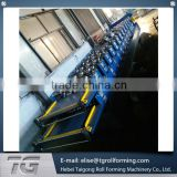 CNC Control System Color Steel Sheet Double Layer Roof And Wall Roll Forming Machine with competitive price