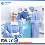 2015 Waterproof P Non-woven Disposable Sterile Surgical Gowns With CE& ISO disposable surgical gown