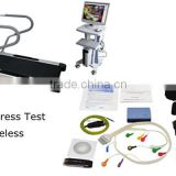 Newest ECG Stress Test System PC Software Wireless for Cardiac Stress Exercise Optional Treadmill high-end