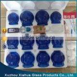 clear colored hijama cupping set wholesale