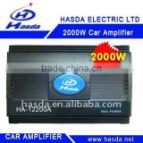 24V 2000W 4 Channel Bridgeable mosfet car amplifiers
