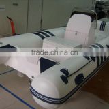 NEW!! 4.7m PVC or Hypalon luxury fibergrass RIB boat