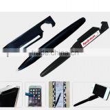Promotion pen, custom cheap price ,lastest ball pen ,multifunction phone stand with screem cleaner