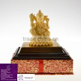 24K Gold Plated Promotion gift Indian Elephant God Statue