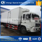 100% guarantee factory direct sale original dongfeng new meat hook refrigerator truck 8 to 10 ton