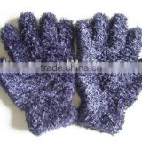 Ladies' feather glove,One Dollar store item