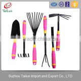 Comfortable Handle Pink lady softouch Garden Hand Tool Set