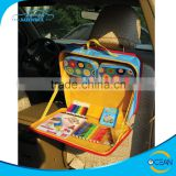 Car Kick Mat Organizer , Storage Toys Bag for Baby and Kids