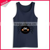 China Manufacturer Wholesale Mens Tank Top Bulk Fashion Design Custom Sleeveless T Shirt