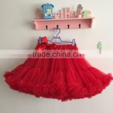 women skirt,summer skirt, ladies red short puffy skrit, adult tutus