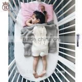Baby Air Conditioning Blanket ,Outdoor knitting Cute Rabbit Quilt