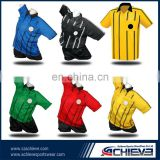 manches man united black yellow soccer jersey