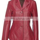 Ladies Leather Coat Art No: 1380