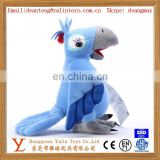 Plush stuffed toy birds soft parrot