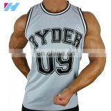 Men Whoolesale blank basketball jerseys basketball uniform 2015 Yihao custom jersey tank top/ vest singlet