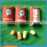 Noise Reducer high quality PU earplugs for 2015 promo gifts