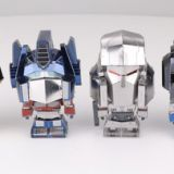 Mu New 3D Metal Model Kit Mini DIY Transformers Figures set 6 Bubble Head Cute Models Diy Collectible Model To