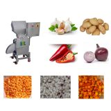 Good performance potato / carrot cutting machine