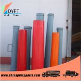 Reducer pipe for construction machines