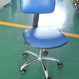 blue color esd adjustable office chair