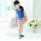 2014 new style korean kids dresses for girls