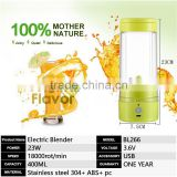 Electric Mini Portable Fruit Juicer cup shaker bottle