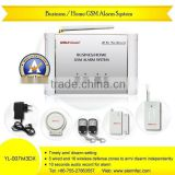 2012 hot sale new Business/Home GSM Alarm systems mms alarm system YL-007M3DX