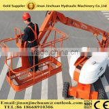 Beetle Crane Mobile 4 Wheel One Man Aerial Service / Construction Hydraulic Telescopic / Articulated Boom lift