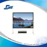 "BW 100"" Portable Folding Projection Screen/Fast Fold Projector Screen/Quick Foldable Screen"