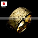 Premium and Original japanese gold ring designs for men at reasonable prices , small lot order available