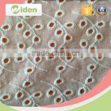 Fabric flower garment accessories for women clothes cotton embroidery lace fabric                                                                                                         Supplier's Choice