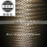 1x7 1x19 7x7 7x19 AISI304/AISI316 stainless steel wire rope manufacturer