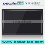 Hot selling LED advertising frameless lcd monitor lcd touchscreen monitor with built in computer with low price