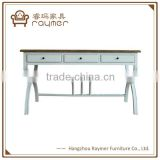 INquiry about Living room furniture x leg solid wood console table white console table                                                                                                         Supplier's Choice