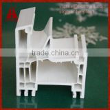 huazhijie 70mm horizontal sliding pvc window profiles with 5 chamber