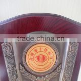 High quality wooden plaque trophy souvenir award wooden plaque blank with wooden box packaging